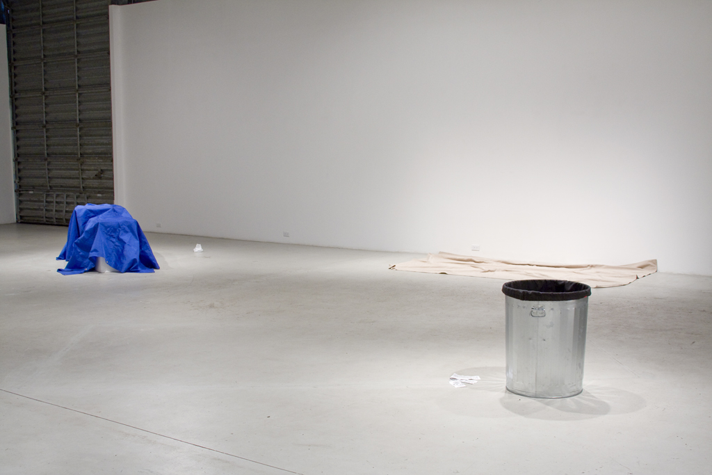 Frances Trombly, Installation view, Thinking of Things, 2008, David Castillo Gallery