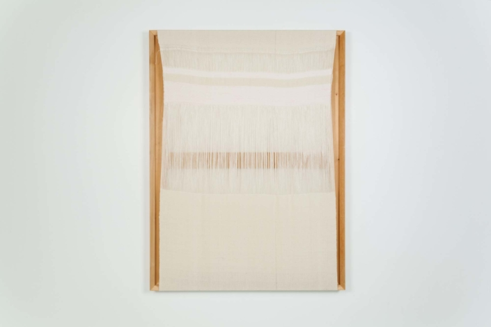 Frances Trombly, Untitled (exposed warp), 2015